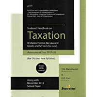Students Handbook on Taxation