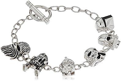 598ebdb27f6cc Amazon.com: Star Wars Jewelry Character 925 Sterling Silver 3D ...