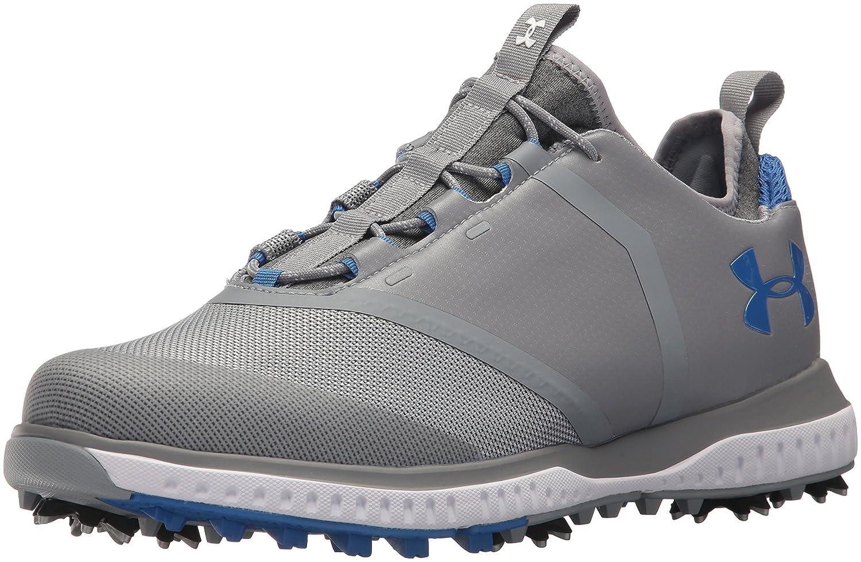 Under Armour Men's Tempo Sport 2 Golf Shoe B0728BZX57 11.5 M US|Steel (101)/Mediterranean