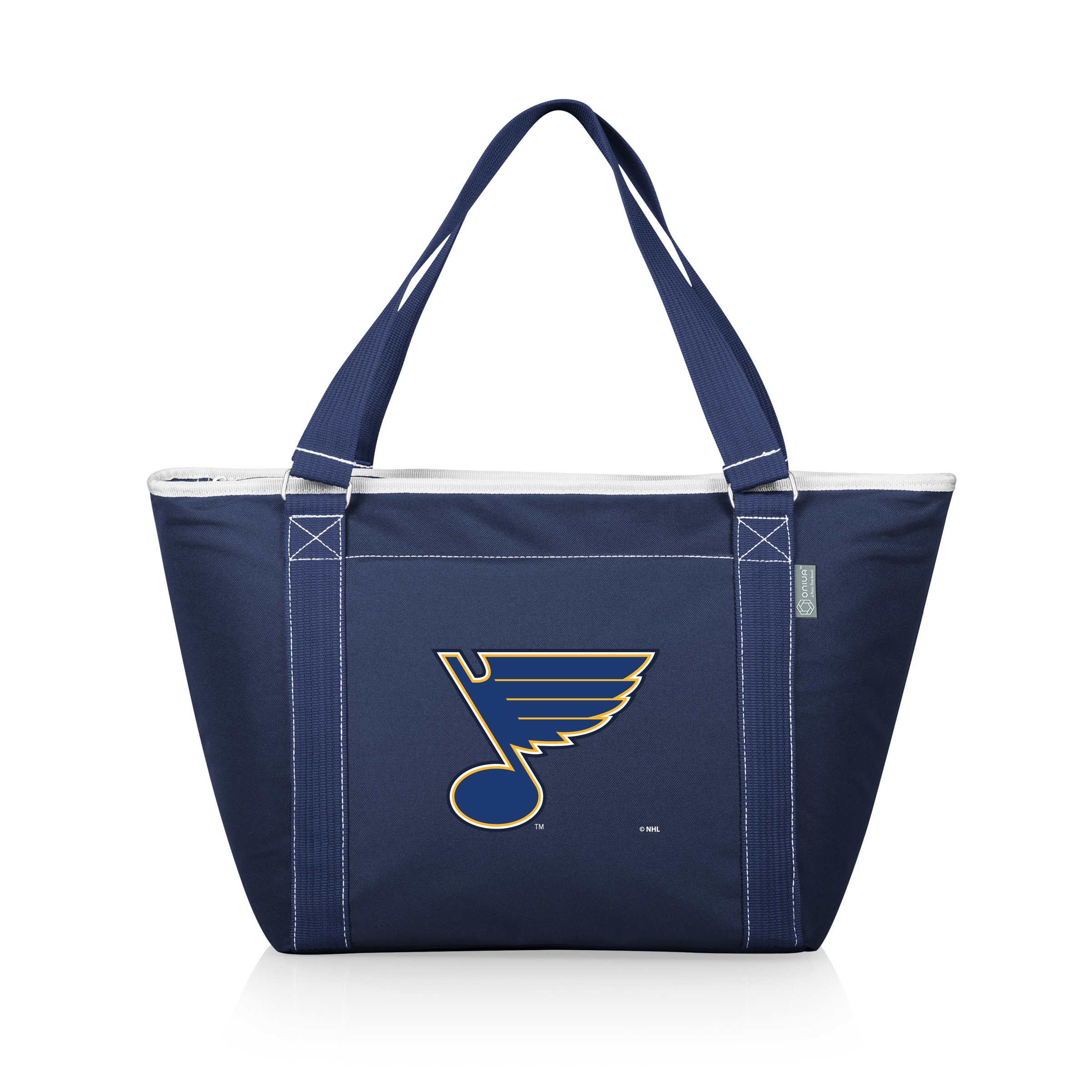 PICNIC TIME NHL St. Louis Blues Topanga Insulated Cooler Tote, Navy