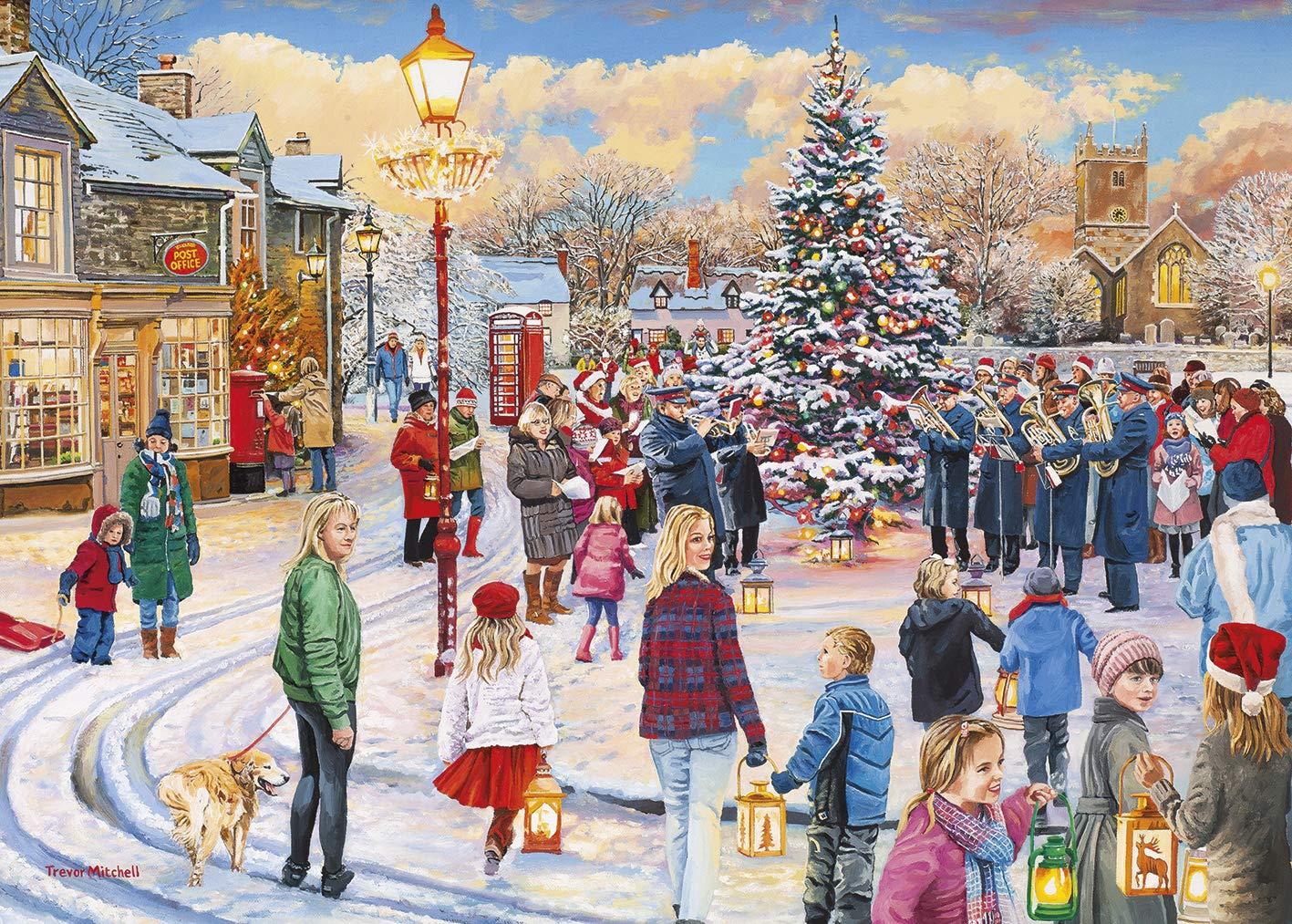 Christmas Choir.Gibsons Christmas Chorus Jigsaw Puzzle 1000 Pieces Amazon