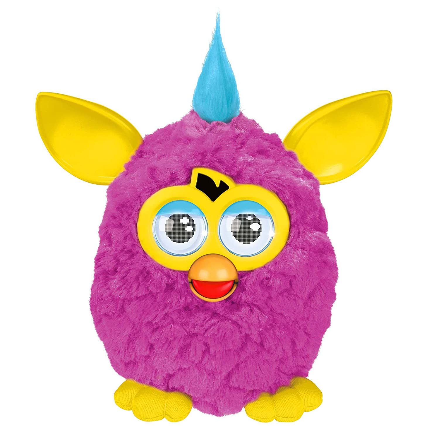 Furby Plush Pink Yellow