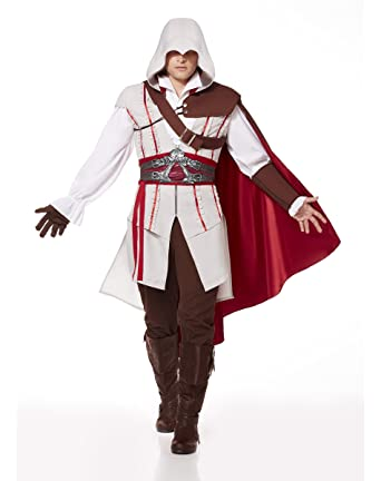 Amazon.com: Spirit Halloween Adult Ezio Costume - Assassin's Creed ...