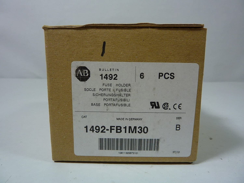 Allen Bradley 1492 Fb1m30 Fuse Holder W 1 Pole German Box Industrial Scientific