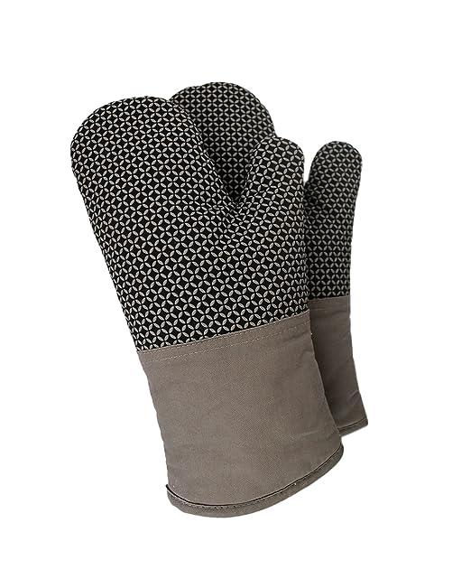 Miracle Textiles - Guantes de Horno Resistentes al Calor (2 ...
