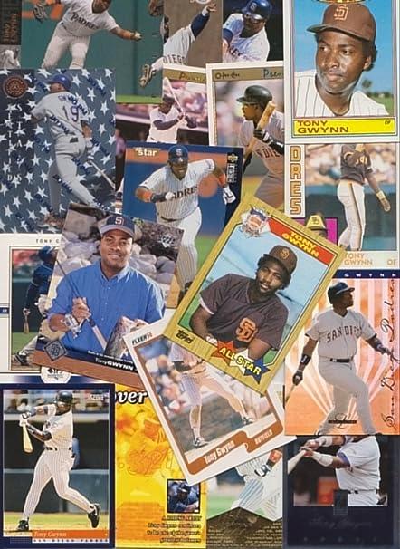 Tony Gwynn Baseball Cards 200 Card Lot All Different At