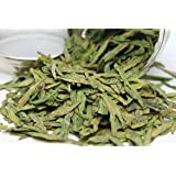Tealyra - Premium Dragon Well - Long Jing - Green Tea - Loose Leaf Tea - First Grade - Organically Grown - 4-Ounce