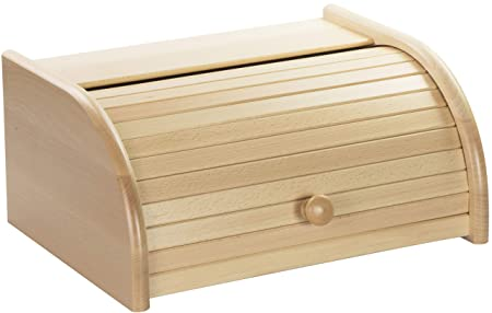 Laublust Laublush Bread Bin Made Of Wood Approx 40 X 30 X 19 Cm