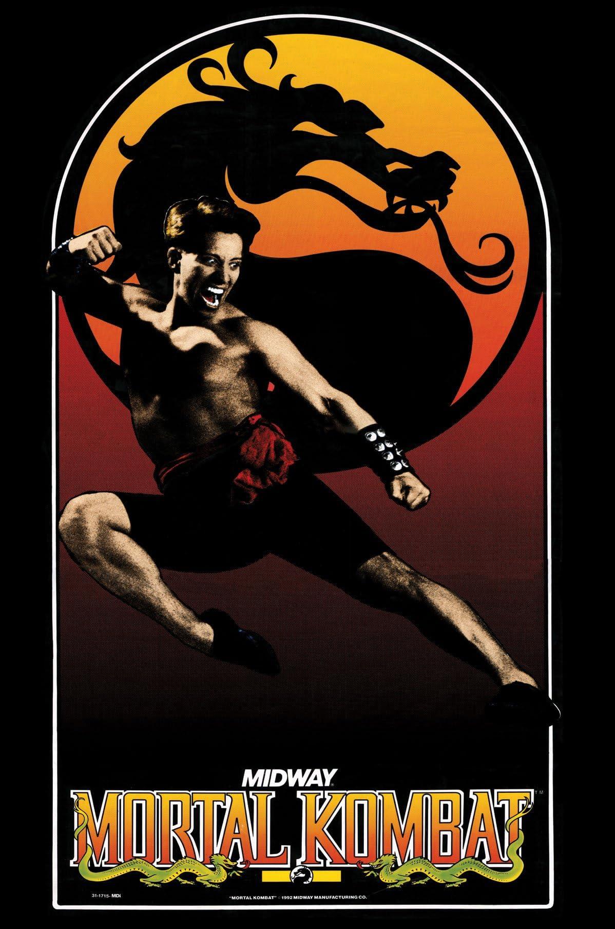 Amazon com: Mortal Kombat I or MK 1 Video Arcade Game Poster