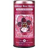 The Republic Of Tea Raspberry Rose Hibiscus Tea, 36 Tea Bags, Caffeine-Free Herbal Tea