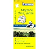 Michelin Mayenne, Orne, Sarthe France