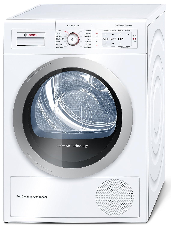 Bosch WTY86700 - Secadora (Independiente, Frente, Color blanco, 8 ...