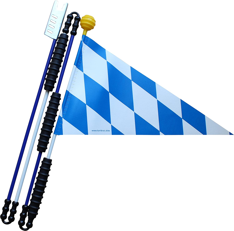 Karl Drais 160 cm Bayern Bavaria – Banderín (banderín de Seguridad ...
