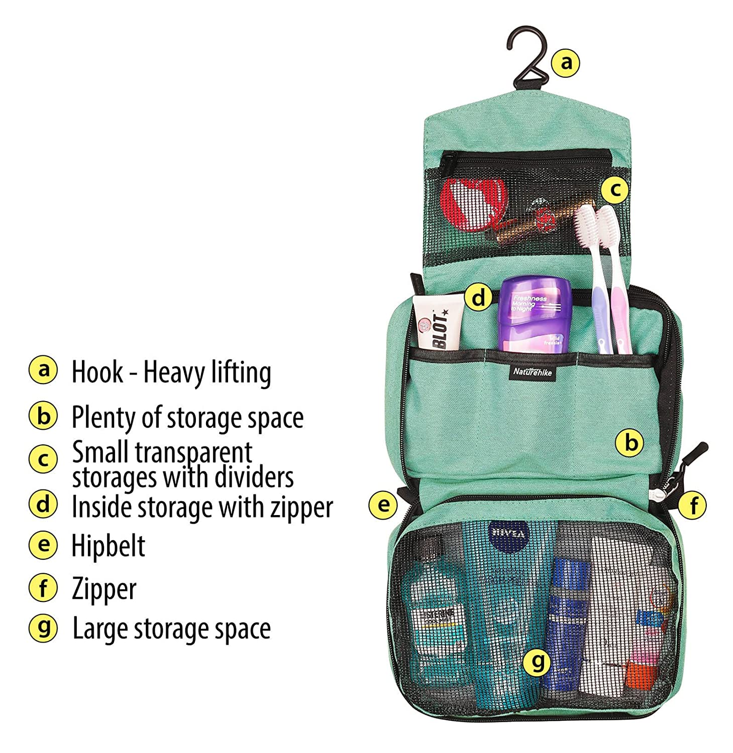 Amazoncom Cosmetic Case Organizer Bag For Travel  Makeup Toiletry