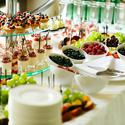 Clear Standard Classic Cuisine 82-KIT1124 3-Tier Dessert Stand-Tempered Round Glass Display Tower