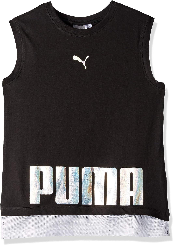 PUMA Girls Girls Mesh Tank Shirt