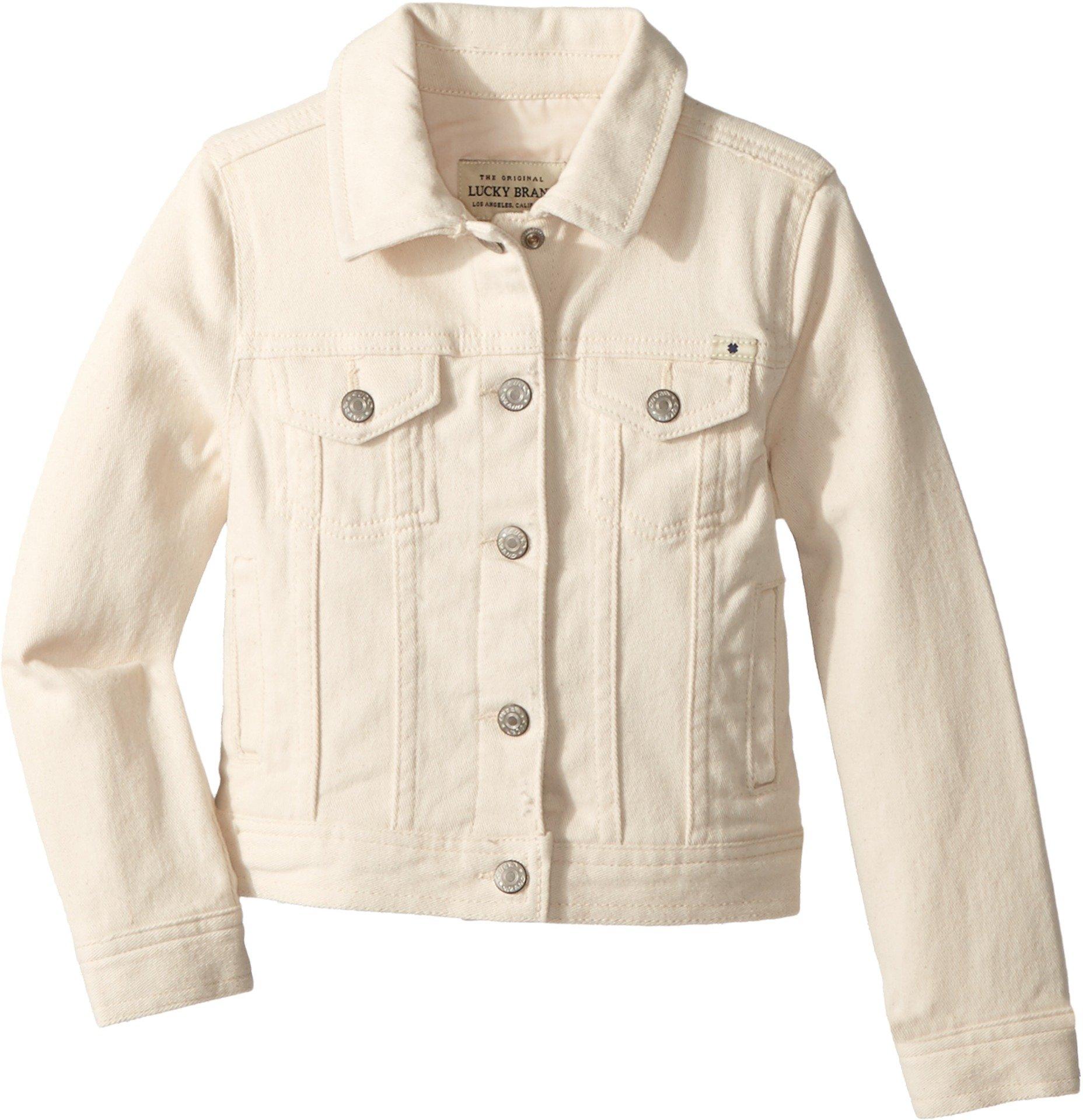 Lucky Brand Girls' Little Denim Jacket, Brianna Natural, 6X