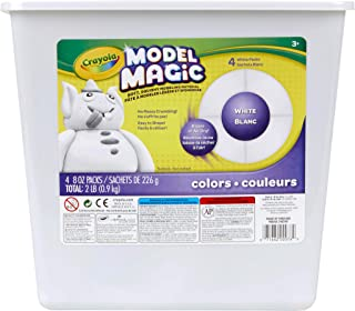 product image for Crayola Model Magic White, Modeling Clay Alternative, 2 lb. Bucket, Gift