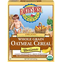 Earths Best Cereal Oatmeal & Banana (pack of 2)