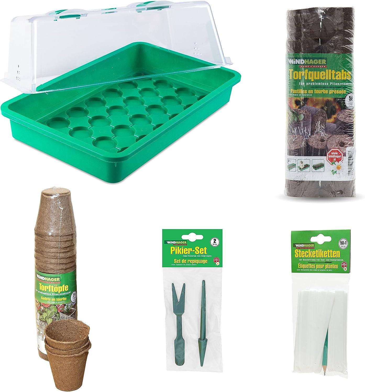 WINDHAGER 96286 - Kit de Cultivo en casa