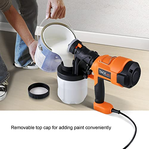 Tacklife SGP15AC Spray Gun is a powerful electric paint sprayer that anyone should have