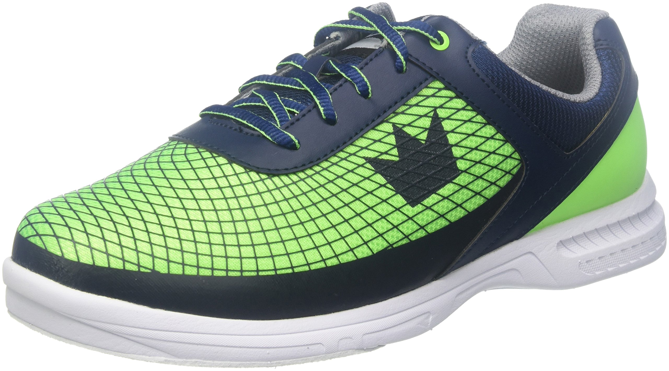 Brunswick Frenzy Mens Bowling Shoe Navy/Green, 7.0