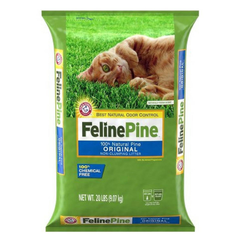Feline Pine Original Cat Litter, 20lb - 1 Pack