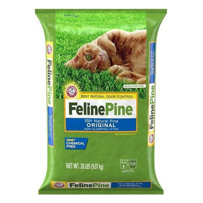 Amazon.com: Feline Pine Original - Arenero antiaglutinante ...