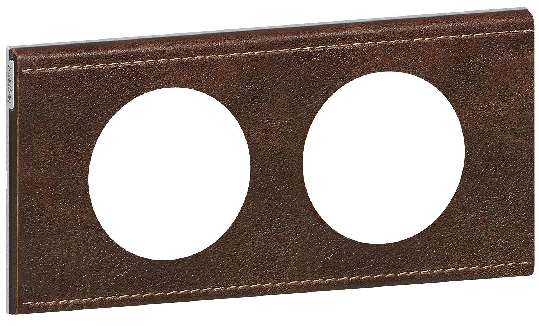 Cuir Pourpre Couture Legrand LEG69441 C/éliane Plaque avec 1 Poste