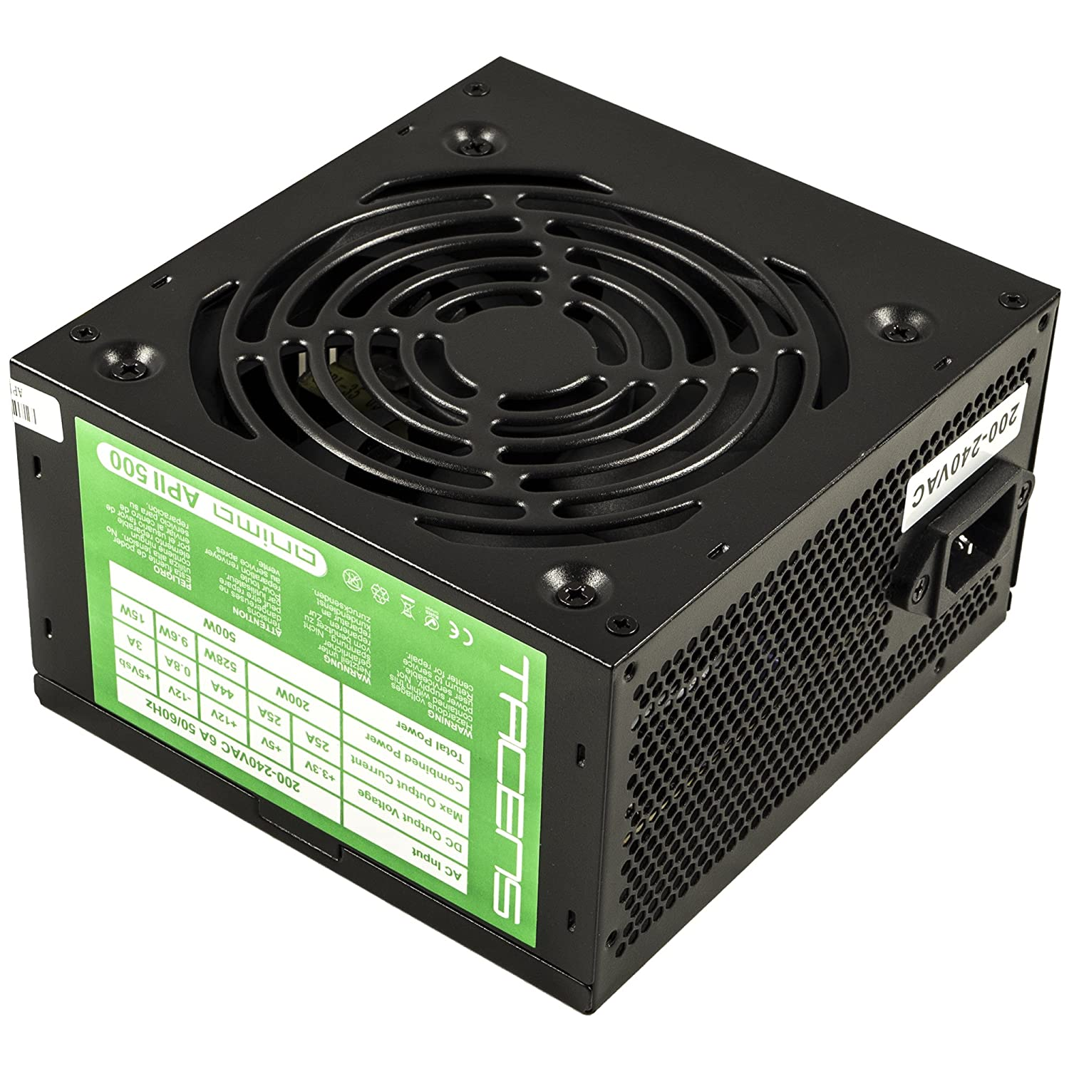 comprar pc gamer barato fuente tacens 500w para fortnite