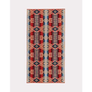 Pendleton Jacquard Patterned Cotton Colorful Pattern Bath Towel - Canyonlands, One Size