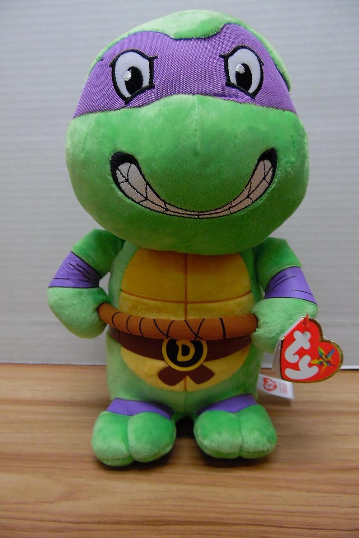 "Ty TY37085 Donatello Teenage Mutant Ninja Turtles 10"" Medium Sized Plush"