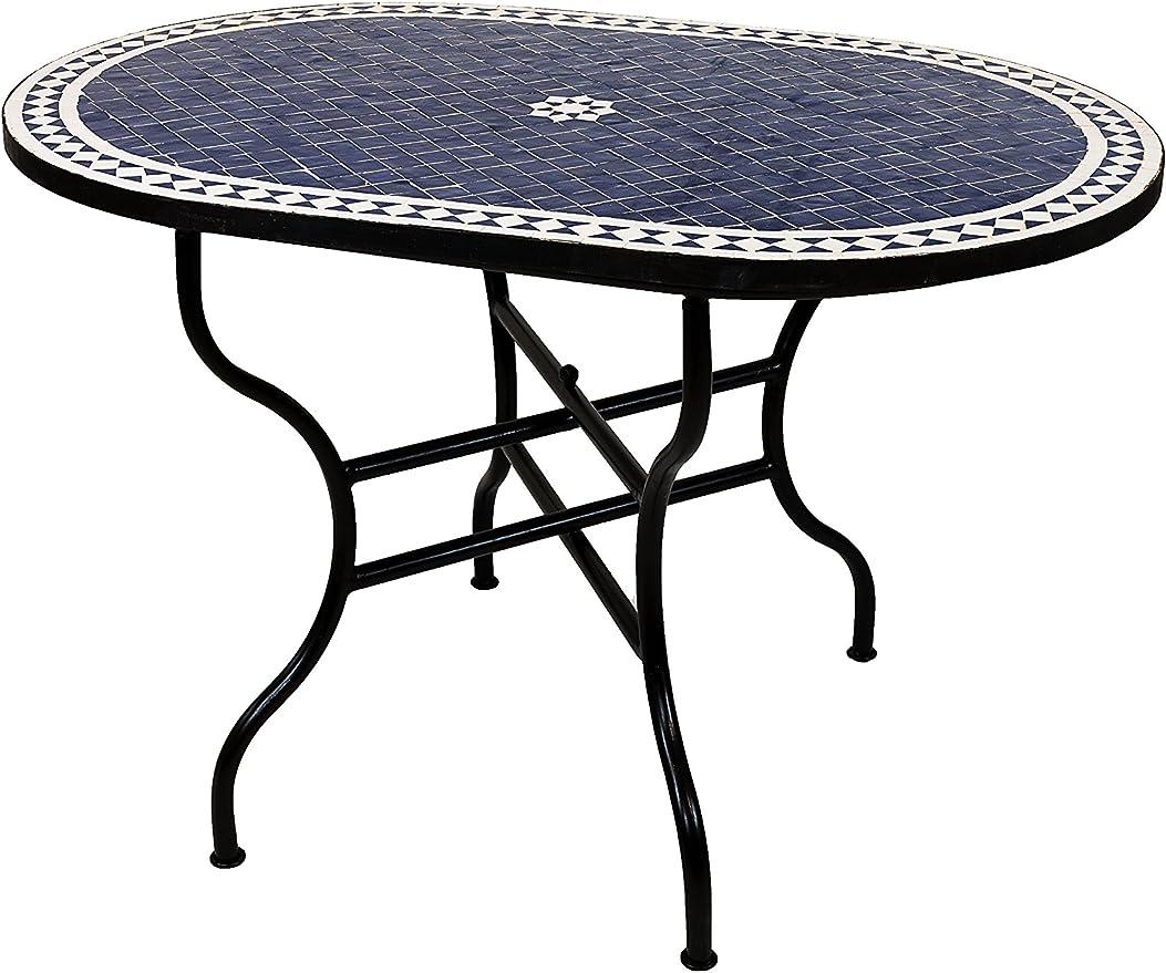 Original Marrakesch Bidhan Table mosaïque rectangulaire 120 ...