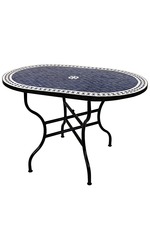 Table basse Table de jardin Blanc Métal Table Table De Jardin Shabby ...