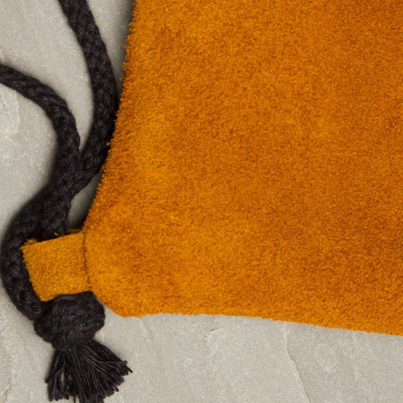 CASPAR TL712 Mochila de Cuerda de Ante//Bolsa de Deporte con Estrella Brillante