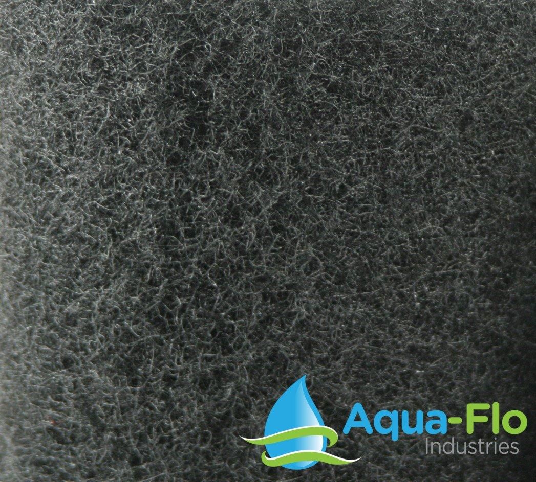 12''x 12''x 1.25'' (3 Pack) Aqua-Flo Coarse Black Universal Pond Filter Mat by Aqua Flo (Image #2)