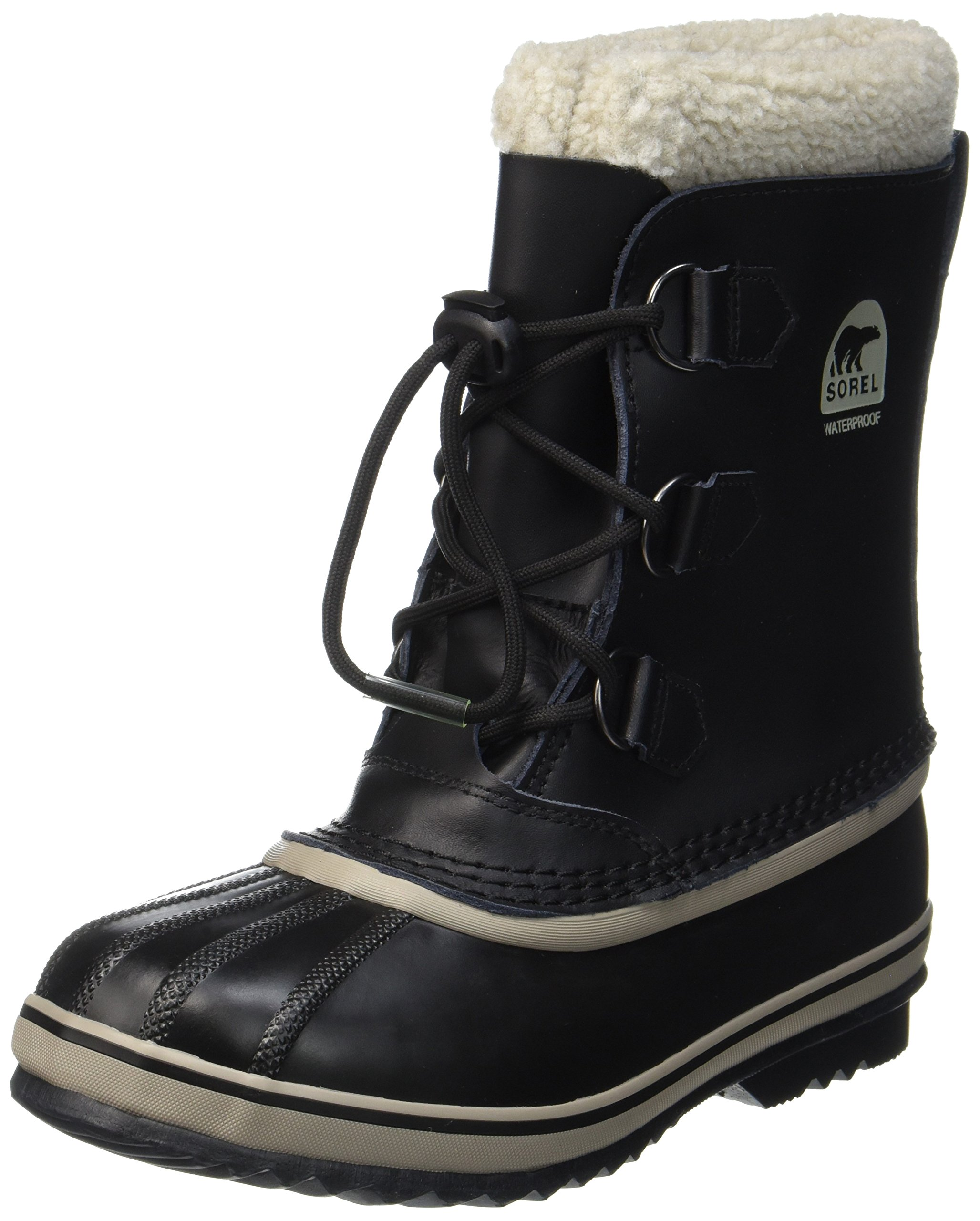Sorel Yoot Pac TP Cold Weather Boot, Black, 7 M US Big Kid