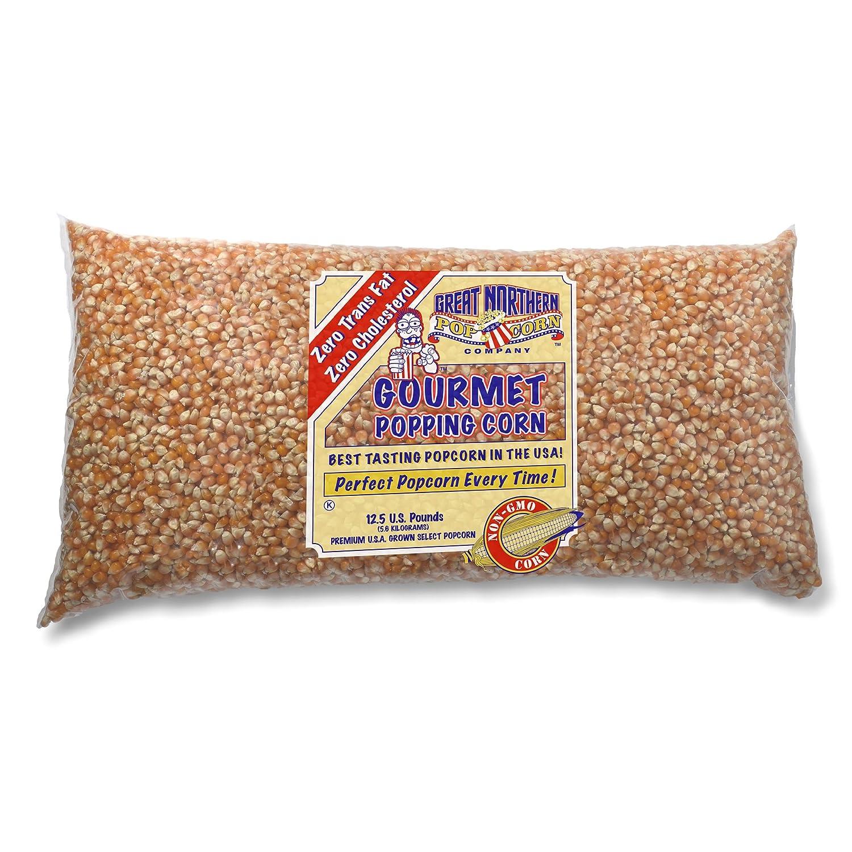 4097 Great Northern Popcorn Bulk GNP Original Yellow Gourmet Popcorn, 12 5  Pounds