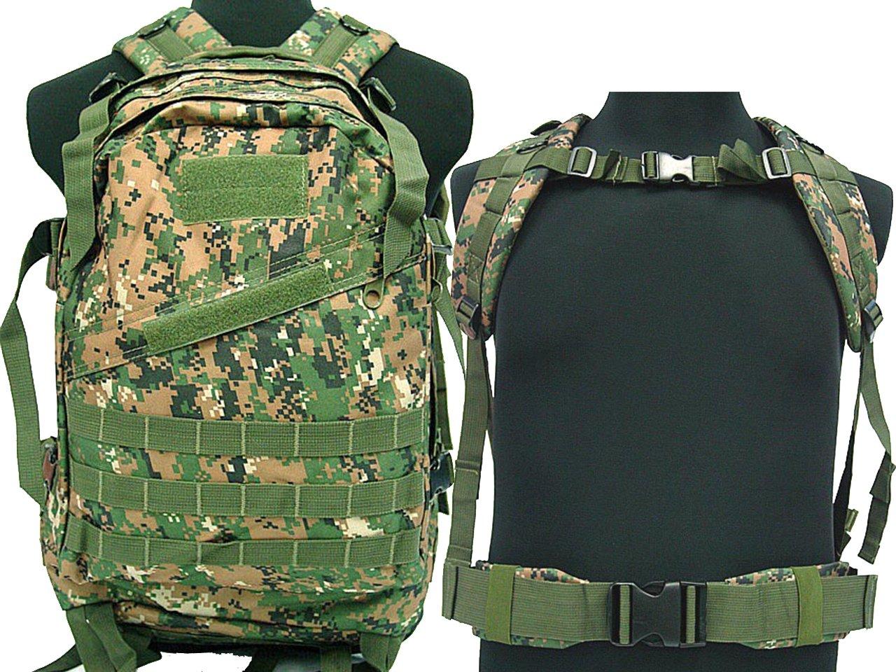 Desconocido Tactical - Mochila Militar de Acampada, Senderismo, Escalada, Airsoft, molle, DWC: Amazon.es: Deportes y aire libre
