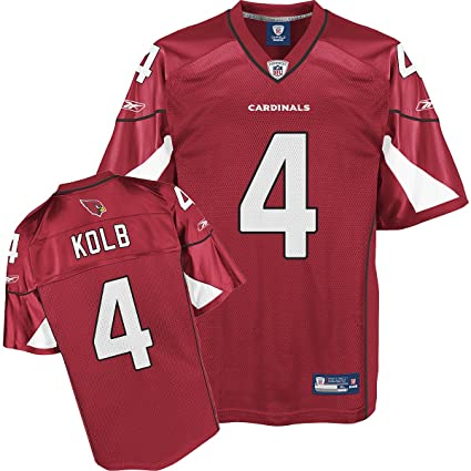 23b75b2e4912 Image Unavailable. Image not available for. Color  Reebok Arizona Cardinals  Kevin Kolb Replica Jersey ...