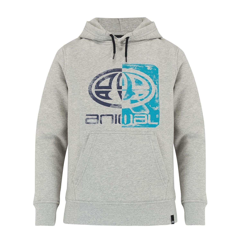 32622ac565ed Animal Hoodies - Animal Ryder Hoody - Grey Marl: Amazon.co.uk: Clothing