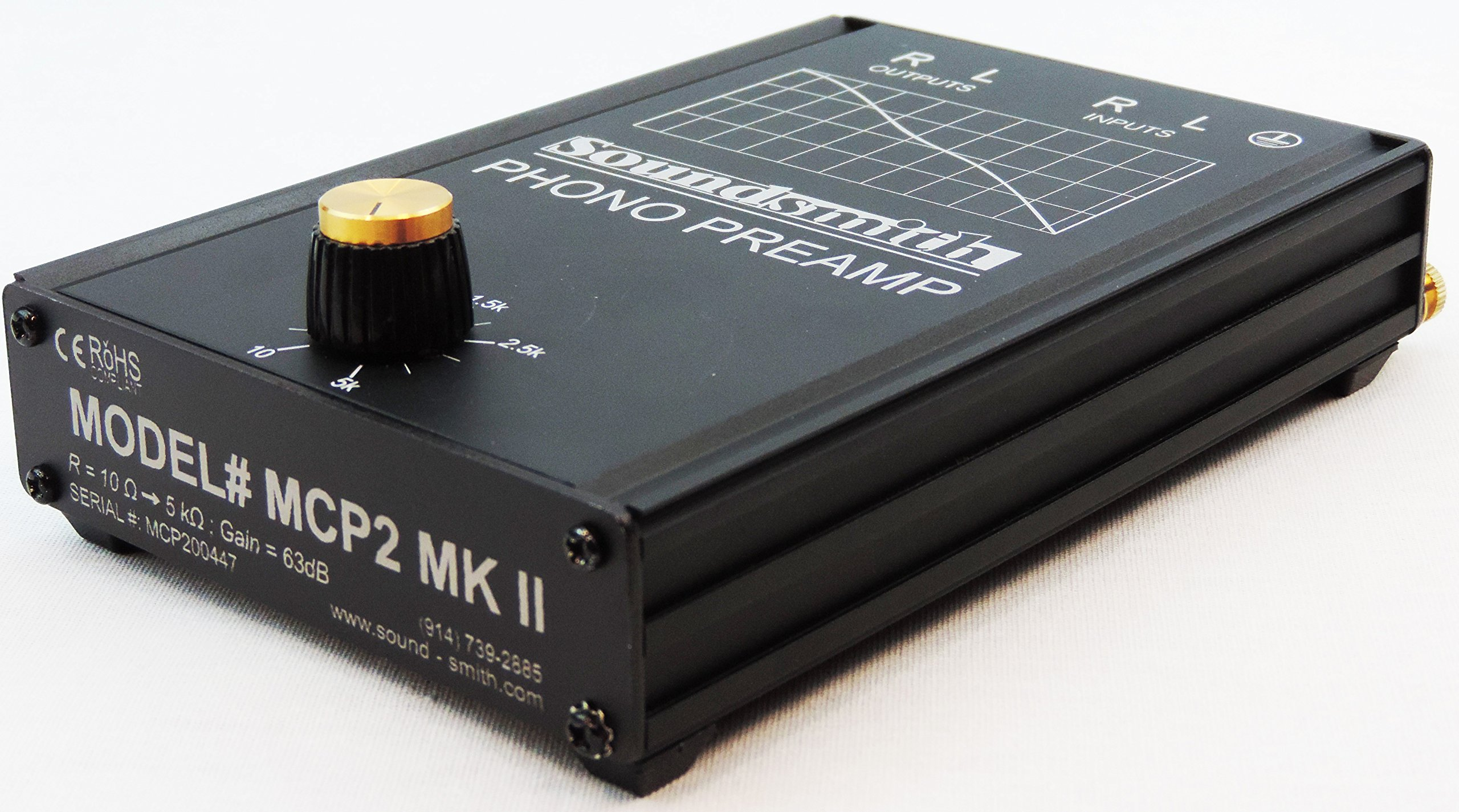Soundsmith MCP2 MKII High-End Moving-Coil Phono Preamp with Variable Loading