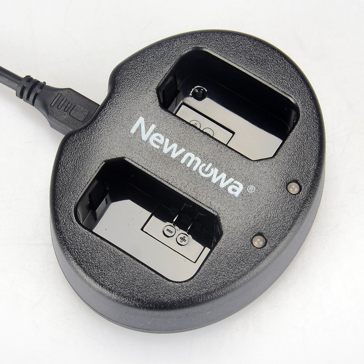 Newmowa Dual USB Charger for Sony NP-FW50 and Alpha a3000, Alpha a5000, Alpha a6000, A6300,Alpha 7, a7, Alpha 7R, a7R, Alpha 7S, a7S, NEX-3, NEX-3N, NEX-5, NEX-5N, NEX-5R, NEX-5T, NEX-6, NEX-7, NEX-C3, NEX-F3, SLT-A33, SLT-A35, SLT-A37, SLT-A55V, Cyber-sh