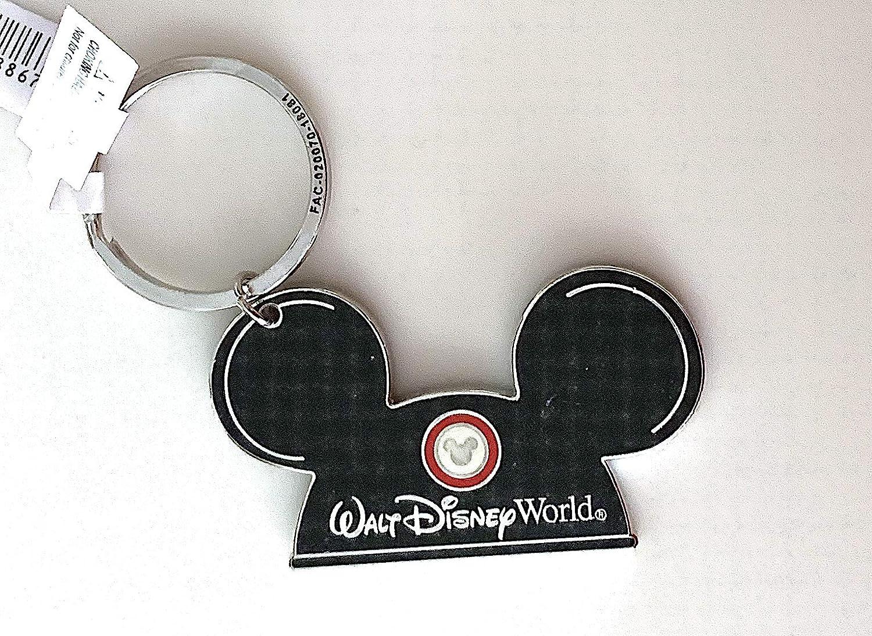 Amazon.com: Walt Disney World - Llavero de metal, diseño de ...