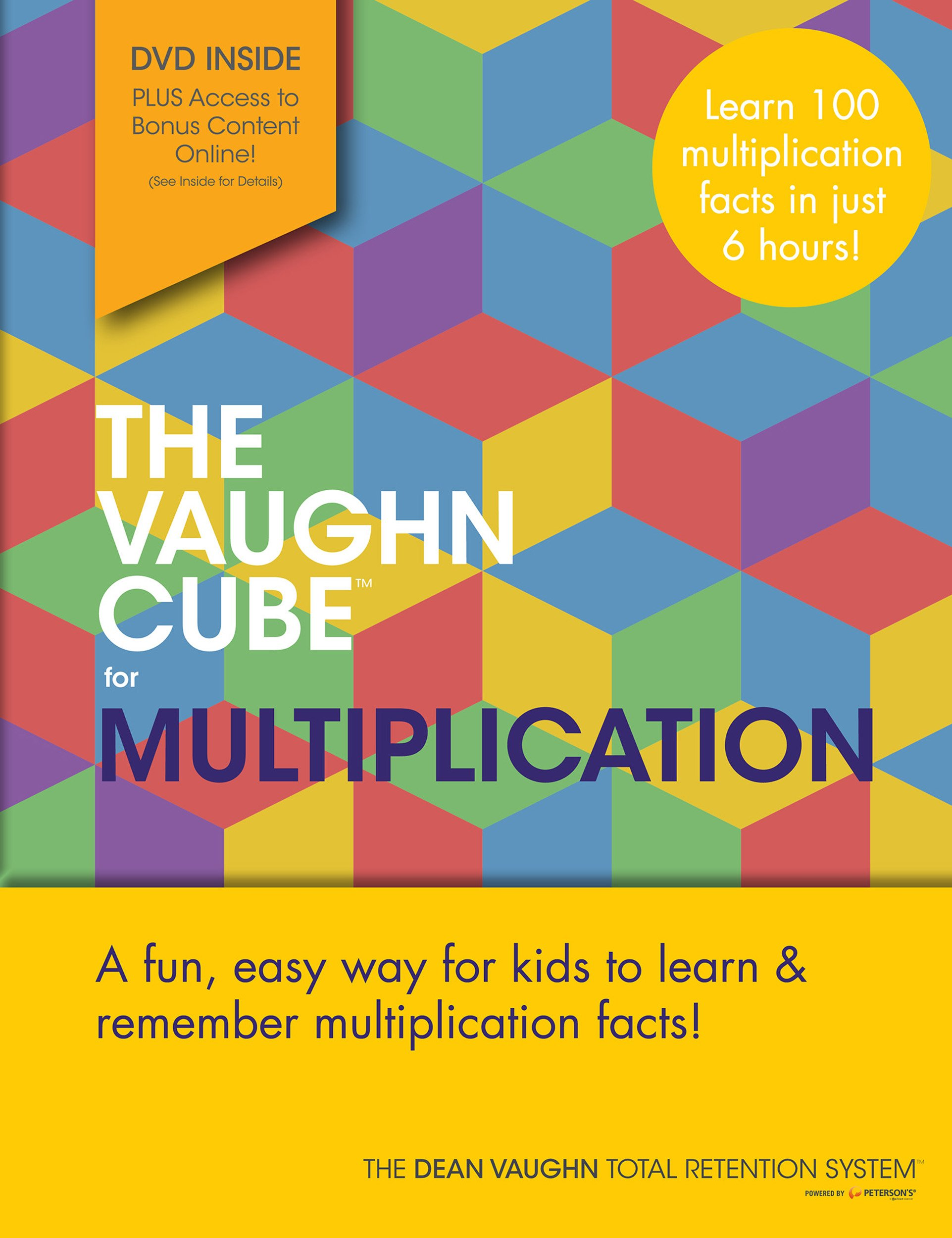 """The Vaughn Cube"""" for Multiplication"""