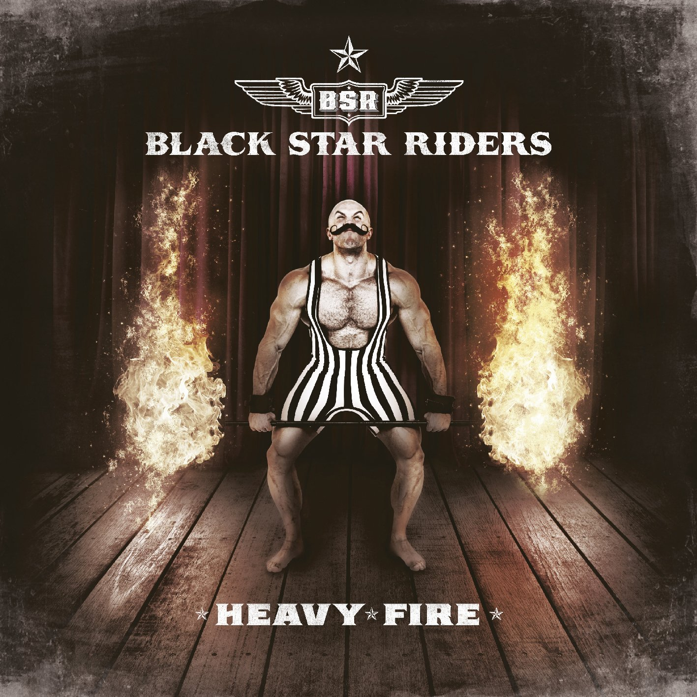 CD : Black Star Riders - Heavy Fire (CD)