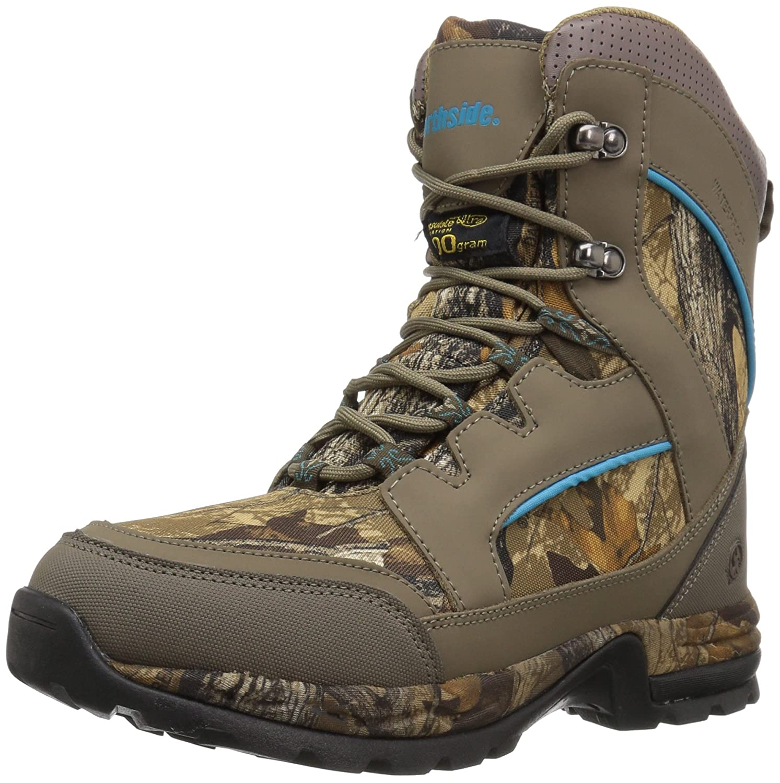 Northside Women's Woodbury 800 Hunting Shoes B01N5UYO4X 6.5 B(M) US|Stone/Aqua