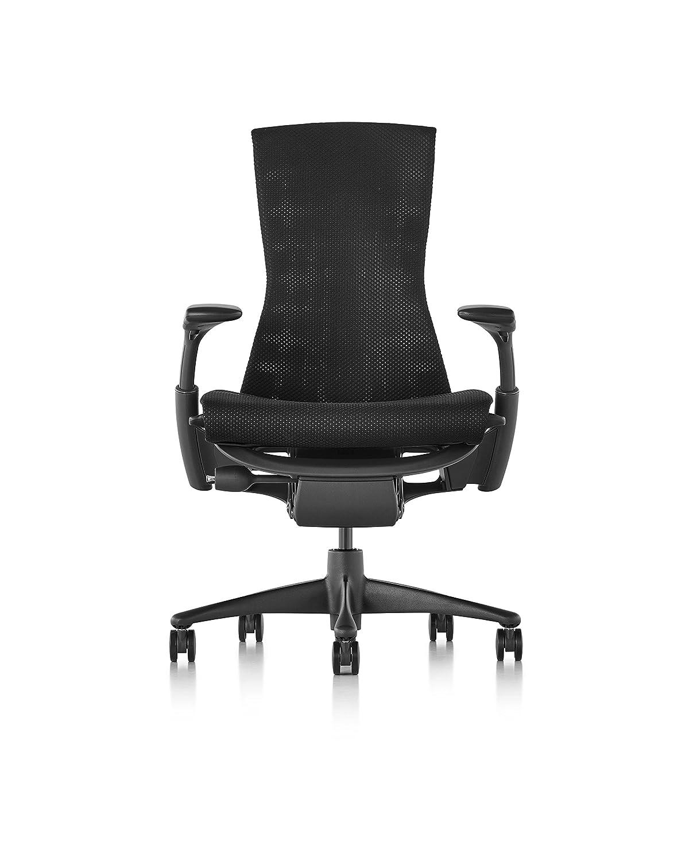 Amazoncom Herman Miller Embody Chair Graphite FrameBlack - Henry miller furniture