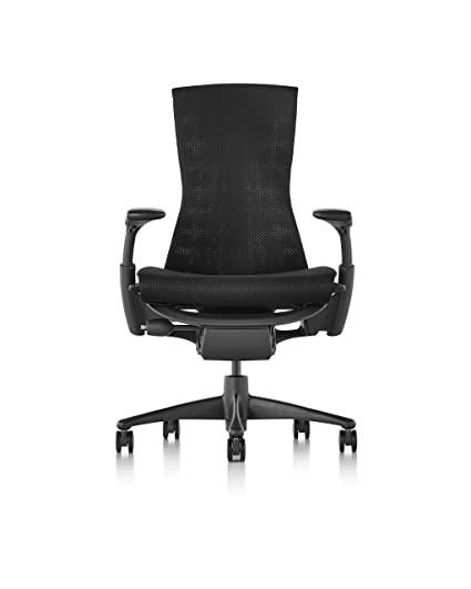 Herman Miller Embody Chair   Graphite Frame/Black Balance Textile