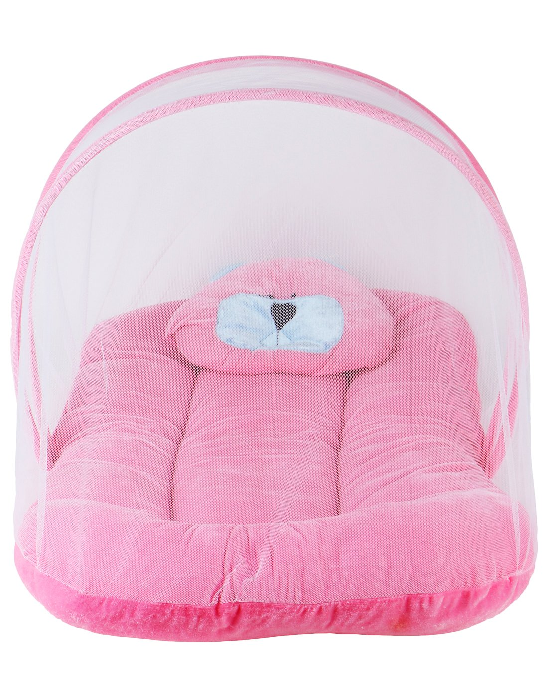 Littly Contemporary Velvet Baby Bedding Set, 0-6 Months, Pink